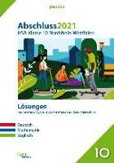 Cover-Bild zu Abschluss 2021 - Hauptschulabschluss Klasse 10 Nordrhein-Westfalen Lösungen