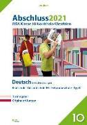 Cover-Bild zu Abschluss 2021 - Mittlerer Schulabschluss Nordrhein-Westfalen Deutsch