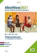 Cover-Bild zu Abschluss 2021 - Klasse 10 Berlin und Brandenburg