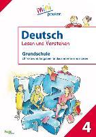 Cover-Bild zu Deutsch - Lesen und Verstehen, Grundschule Klasse 4