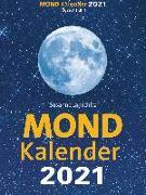Cover-Bild zu Mondkalender 2021. Der beliebteste Mondkalender seit 20 Jahren von Janschitz, Susanne