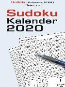 Cover-Bild zu Sudokukalender 2020 von Krüger, Eberhard