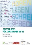 Cover-Bild zu Deutsch-Test für Zuwanderer, Prüfungsziele / Testbeschreibung, A2-B1, Fachbuch von Perlmann-Balme, Michaela