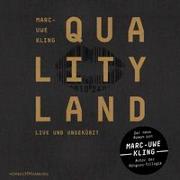 Cover-Bild zu Kling, Marc-Uwe: QualityLand (dunkle Edition)