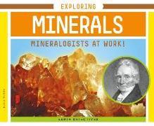 Cover-Bild zu Olson, Elsie: Exploring Minerals: Mineralogists at Work!