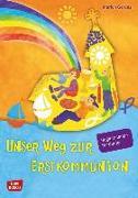 Cover-Bild zu Unser Weg zur Erstkommunion, Begleitmappe für Kinder von Gerdes, Marion