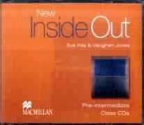Cover-Bild zu Pre-Intermediate: New Inside Out Pre-Intermediate Class Audio CDx3 - New Inside Out von Kay, Sue