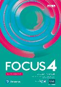 Cover-Bild zu Focus BrE 2nd Level 4 Student's Book w/ digital activities and resources von Kay, Sue