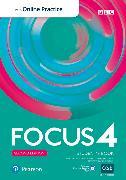Cover-Bild zu Focus BrE 2nd Level 4 Student's Book w/Online Practice, digital activities and resources von Kay, Sue