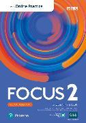 Cover-Bild zu Focus BrE 2nd Level 2 Student's Book w/Online Practice, digital activities and resources von Kay, Sue