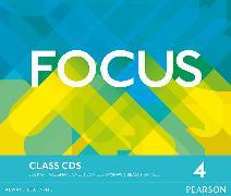 Cover-Bild zu Focus BrE Level 4 Class CDs von Jones, Vaughan