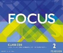 Cover-Bild zu Focus BrE Level 2 Class CDs von Jones, Vaughan