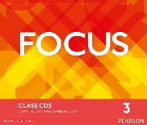 Cover-Bild zu Focus BrE Level 3 Class CDs von Jones, Vaughan