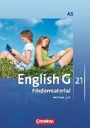 Cover-Bild zu English G 21, Ausgabe A, Band 5: 9. Schuljahr - 6-jährige Sekundarstufe I, Fördermaterial, Kopiervorlagen von Friedrich, Senta