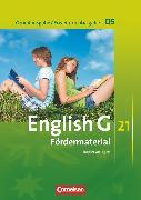 Cover-Bild zu English G 21, Grundausgabe D/Erweiterte Ausgabe D, Band 5: 9. Schuljahr, Fördermaterial, Kopiervorlagen von Wright, Jon