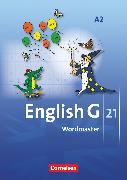 Cover-Bild zu English G 21, Ausgabe A, Band 2: 6. Schuljahr, Wordmaster, Vokabellernbuch von Neudecker, Wolfgang