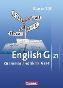Cover-Bild zu English G 21, Ausgabe A, Band 3/4: 7./8. Schuljahr, Grammar and Skills von Blombach, Joachim
