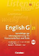 Cover-Bild zu English G 21, Vorschläge zur Leistungsmessung - Ausgabe B, Band 5: 9. Schuljahr, Leistungsmessung, CD-Extra (CD-ROM und CD auf einem Datenträger), Inhaltlich identisch mit 978-3-06-031990-9