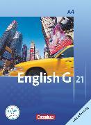 Cover-Bild zu English G 21, Ausgabe A, Band 4: 8. Schuljahr, Schülerbuch - Lehrerfassung, Kartoniert von Abbey, Susan