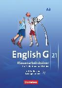 Cover-Bild zu English G 21, Ausgabe A, Band 3: 7. Schuljahr, Klassenarbeitstrainer mit Audios und Lösungen online von Friedrich, Senta