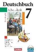 Cover-Bild zu Deutschbuch Gymnasium, Allgemeine bisherige Ausgabe, 7. Schuljahr, Arbeitsheft mit Lösungen und Übungs-CD-ROM von Diehm, Jan