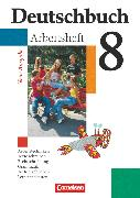 Cover-Bild zu Deutschbuch Gymnasium, Allgemeine bisherige Ausgabe, 8. Schuljahr, Arbeitsheft mit Lösungen von Diehm, Jan