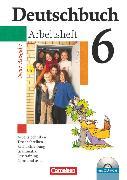 Cover-Bild zu Deutschbuch Gymnasium, Allgemeine bisherige Ausgabe, 6. Schuljahr, Arbeitsheft mit Lösungen und Übungs-CD-ROM von Diehm, Jan