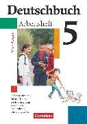 Cover-Bild zu Deutschbuch Gymnasium, Allgemeine bisherige Ausgabe, 5. Schuljahr, Arbeitsheft mit Lösungen von Diehm, Jan