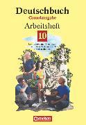 Cover-Bild zu Deutschbuch, Sprach- und Lesebuch, Grundausgabe 1999, 10. Schuljahr, Arbeitsheft mit Lösungen von Biermann, Günther