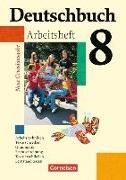 Cover-Bild zu Deutschbuch, Sprach- und Lesebuch, Grundausgabe 2006, 8. Schuljahr, Arbeitsheft mit Lösungen von Biermann, Günther