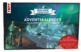 Cover-Bild zu Frenzel, Sebastian: Adventskalender Escape Adventures - Die verwunschenen Eisruinen