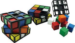 Cover-Bild zu Rubik's Cage, d/f