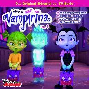 Cover-Bild zu Stark, Conny: Disney - Vampirina - Folge 9: Keine Angst, Vampirina!/ Magischer Hausputz/ V wie Valenstinstag/ Die Grusellehrerin (Audio Download)