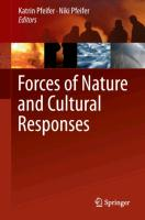 Cover-Bild zu Pfeifer, Katrin (Hrsg.): Forces of nature and cultural responses