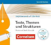 Cover-Bild zu Texte, Themen und Strukturen Bildungsplan 2016. Begleitmaterial auf USB-Stick. BW