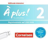 Cover-Bild zu À plus! 2. Méthode intensive. Nouvelle édition. Begleitmaterial auf USB-Stick