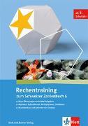 Cover-Bild zu Rechentraining zum Schweizer Zahlenbuch 5
