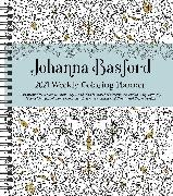 Cover-Bild zu Johanna Basford 2021 Weekly Coloring Planner Calendar von Basford, Johanna