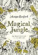 Cover-Bild zu Magical Jungle: 36 Postcards to Color and Send von Basford, Johanna