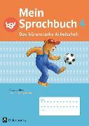 Cover-Bild zu Mein Sprachbuch, Ausgabe Bayern, 4. Jahrgangsstufe, Das bärenstarke Arbeitsheft, Arbeitsheft in Schulausgangsschrift von Duscher, Sandra