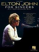 Cover-Bild zu John, Elton (Gespielt): Elton John for Singers: With Piano Accompaniment
