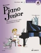 Cover-Bild zu Heumann, Hans-Günter: Piano Junior: Konzertbuch 4