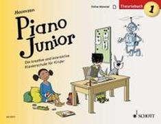 Cover-Bild zu Heumann, Hans-Günter: Piano Junior: Theoriebuch 1