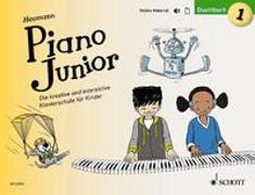 Cover-Bild zu Heumann, Hans-Günter: Piano Junior: Duettbuch 1