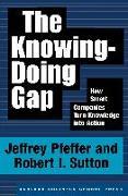 Cover-Bild zu The Knowing-Doing Gap von Pfeffer, Jeffrey