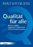 Cover-Bild zu Qualität für alle von Viernickel, Susanne