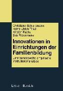 Cover-Bild zu Innovationen in Einrichtungen der Familienbildung (eBook) von Schiersmann, Christiane