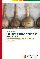 Cover-Bild zu Propostas para o ensino da percussão