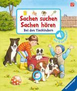Cover-Bild zu Sachen suchen, Sachen hören: Bei den Tierkindern von Nahrgang, Frauke