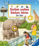 Cover-Bild zu Sachen suchen, Sachen hören: Im Zoo von Nahrgang, Frauke